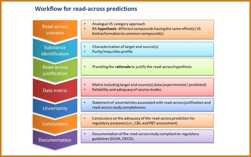 Workflow for read across predictions