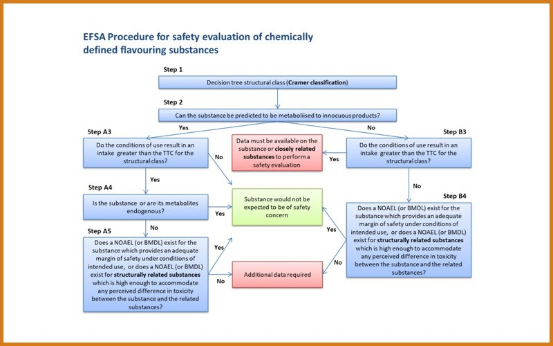 EFSA procedure for safety evaluation of chemically defined flavouring substances